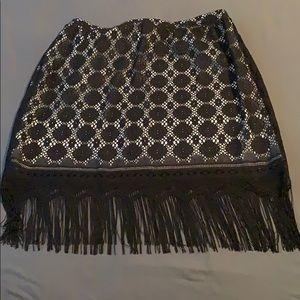 Gorgeous black and white skirt